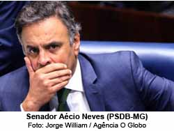 Aécio Neves (PSDB-MG) - Jorge William / Agência O Globo